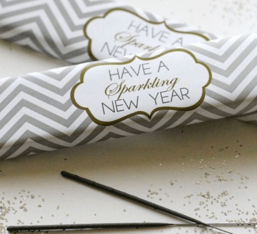 10 New Year\'s Eve Wedding Favor Ideas | Holiday Themes ...