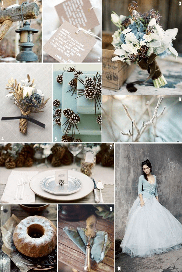 month by month wedding themes and colors for every season