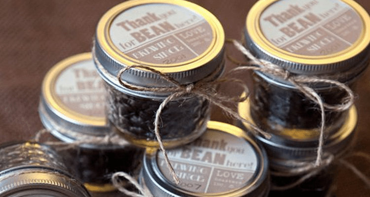 Coffee Wedding Favors And Great Theme Ideas