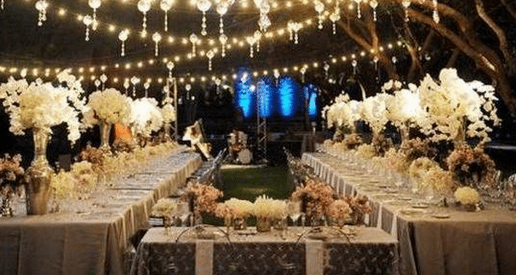 Planning Your Outdoor Wedding Reception