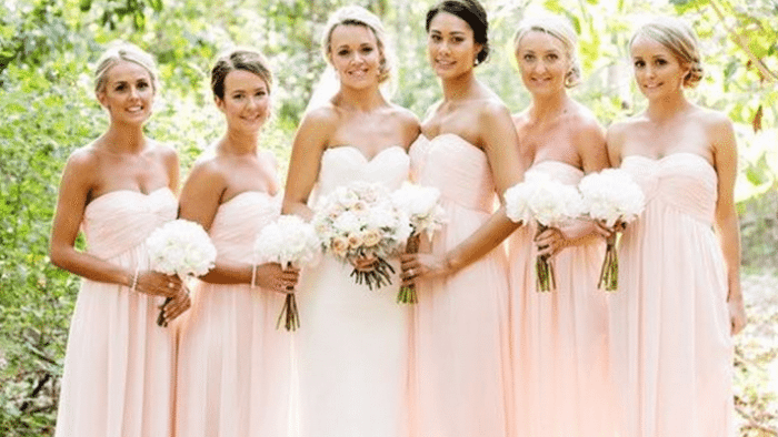 f4afa08884 Here s How to Choose Those Bridesmaids  Dresses (and Come Out Smelling Like  a Rose)