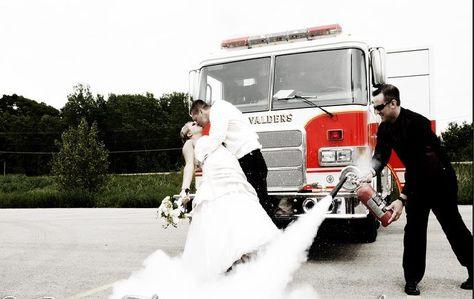 Firefighter Theme Weddings