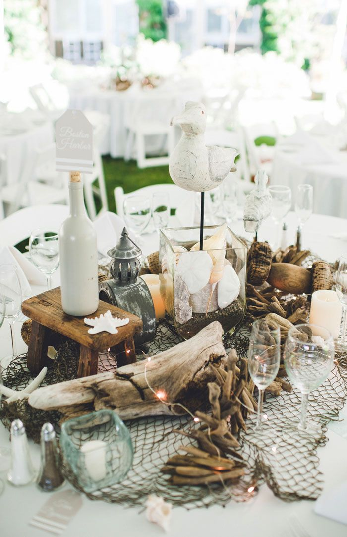 Six stylish ideas for the perfect beach theme centerpiece six stylish ideas for the perfect beach theme centerpiece topweddingsites junglespirit Gallery
