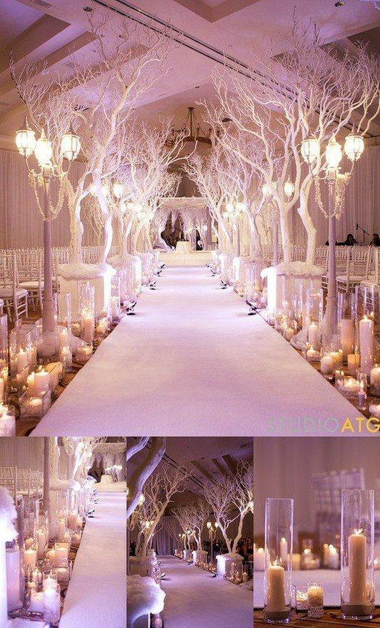 Fresh New Ideas for a Winter Wonderland Wedding Theme ...