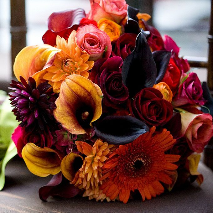 A Guide to Fall Wedding Flowers | | TopWeddingSites.com
