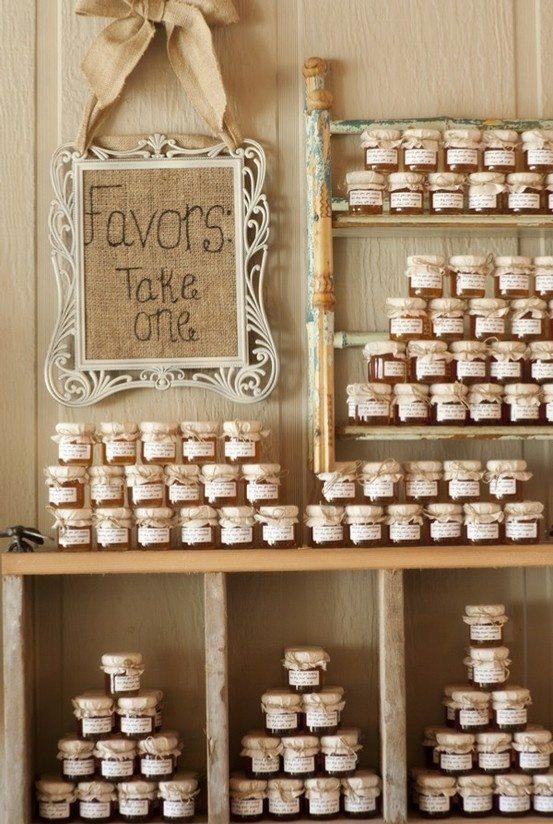 Homemade Jam Wedding Favors | Themes | TopWeddingSites.com