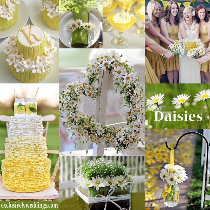 Daisy theme weddings topweddingsites blogexclusivelyweddings junglespirit Images