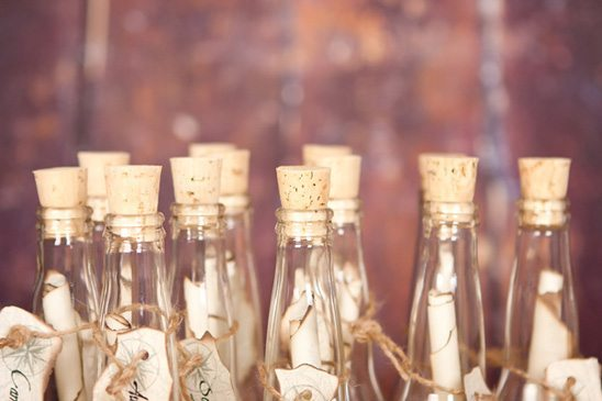 message in a bottle invitations perfect for your beach wedding