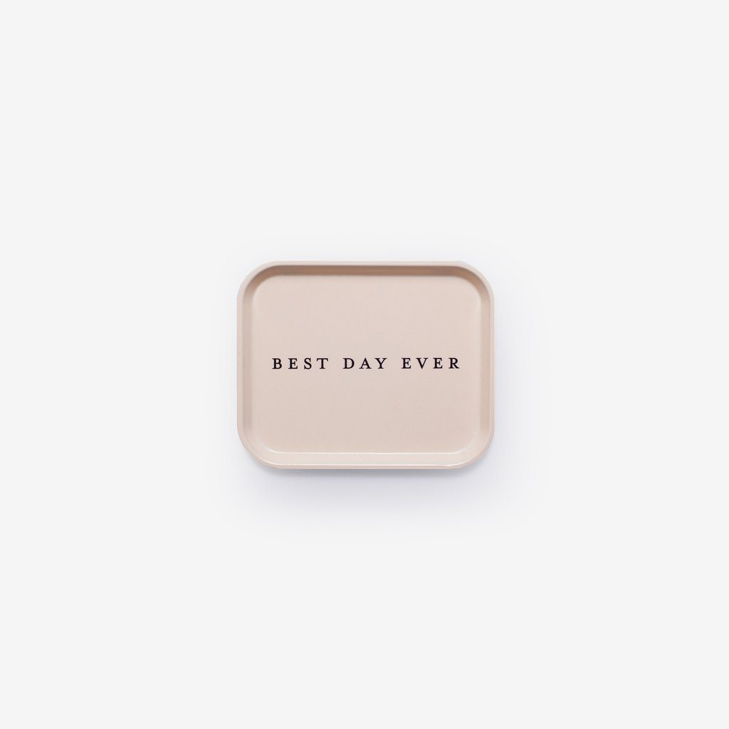 Best Day Ever Catchall Tray from Izola
