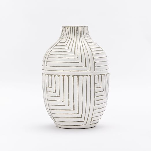Linework Maze Vase from West Elm