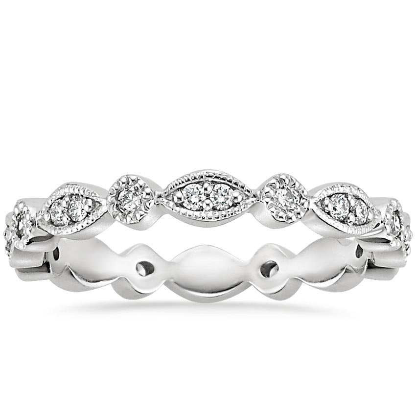 Tiara Eternity Diamond Ring