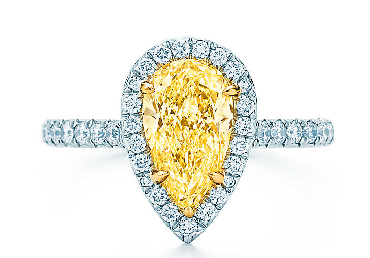 Tiffany Soleste Pear Engagement Ring1
