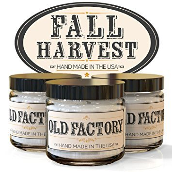 Fall Harvest Candle Trio