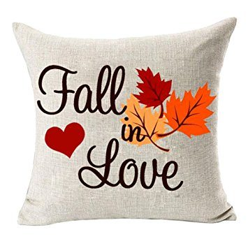 Fall in Love Throw Pillow