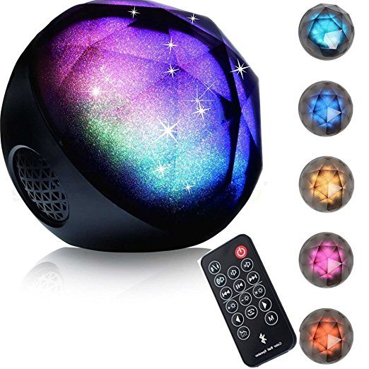 LED Color-Changing Bluetooth Speakers