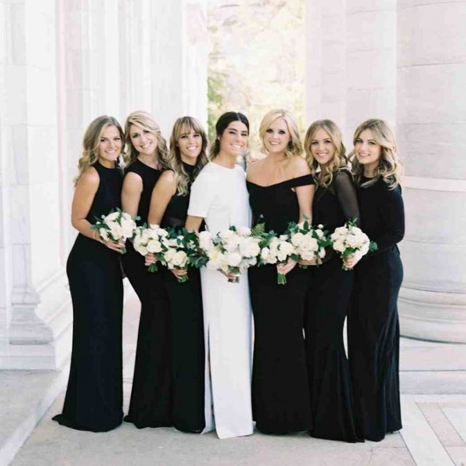 12 Bridesmaids Dresses Perfect for a Black-Tie Wedding