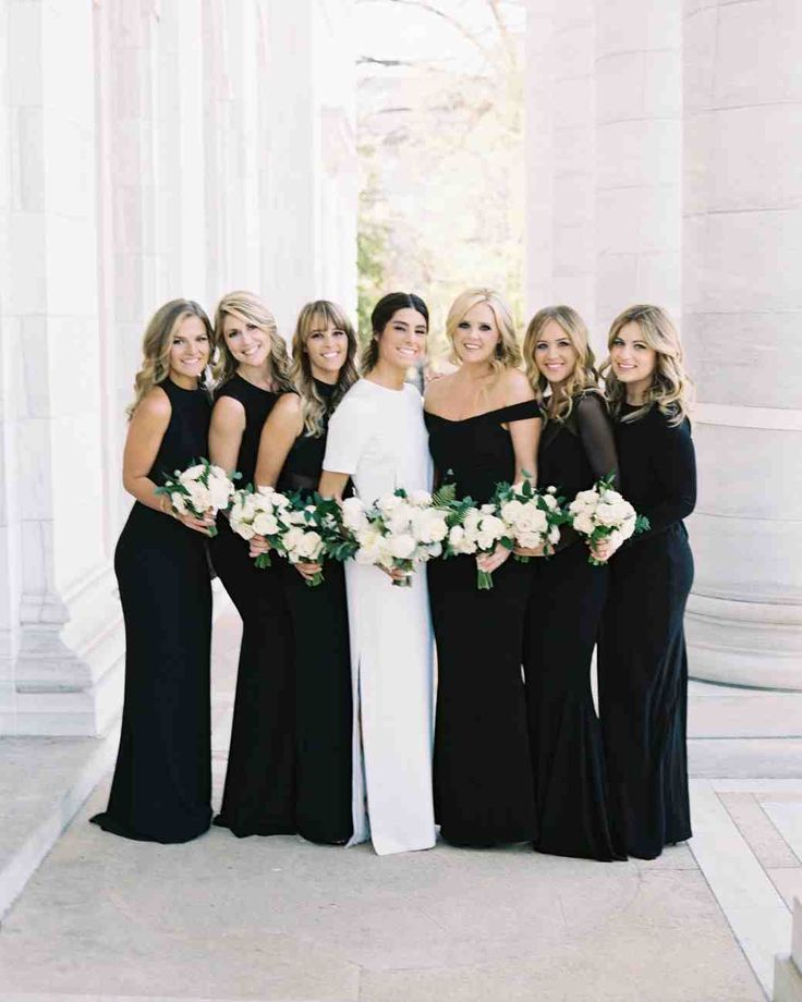 03f222d51bc 12 Bridesmaids Dresses Perfect for a Black-Tie Wedding