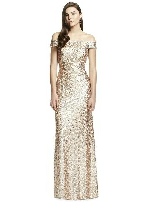Dessy Bridesmaids Dress 3002