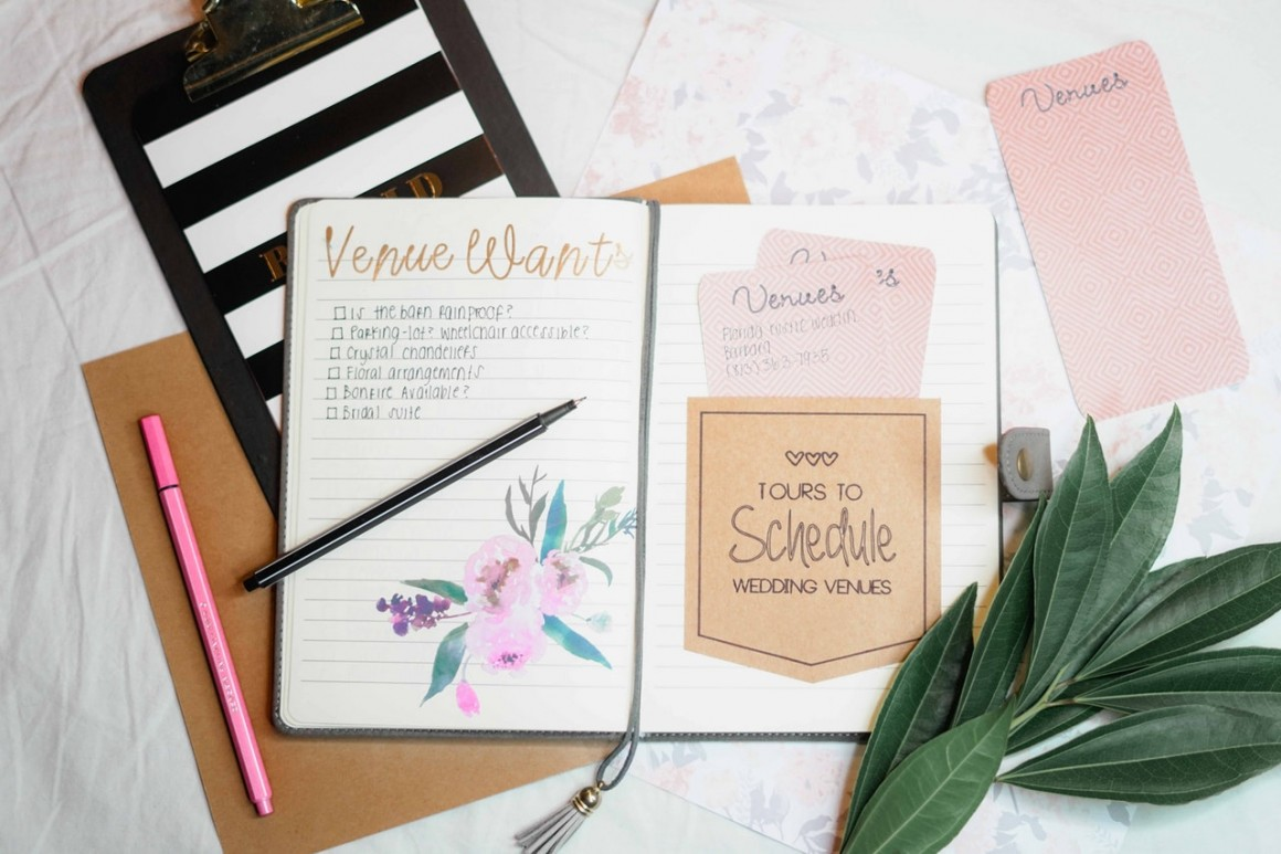 wedding plan A practical wedding planner: a step-by-step guide to creating the wedding you want with the budget you've got (without losing your mind in the process.