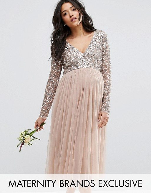 21 Dresses for a Pregnant Bridesmaid | 2018 Edition