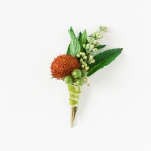 Textural Boutonniere