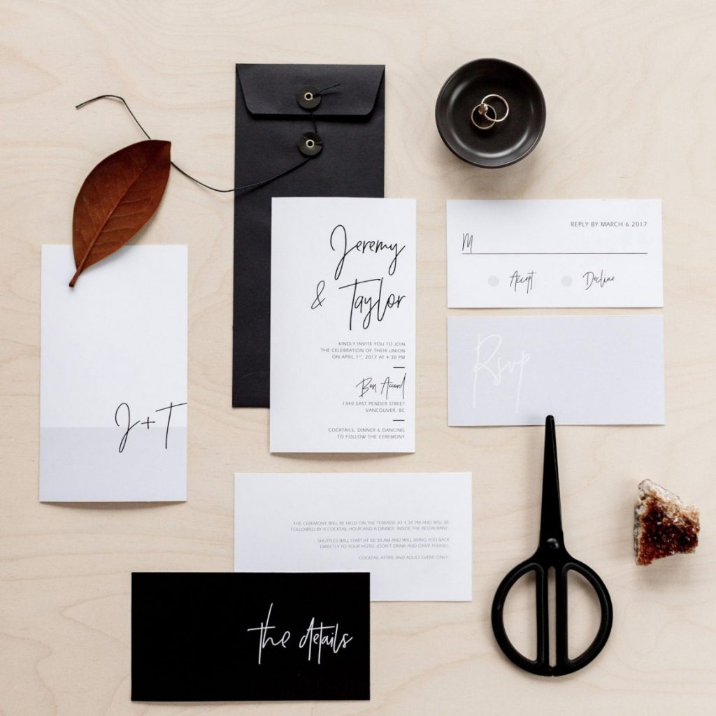 Upscale Modern & Minimalist by WhiteWillowPaperCo