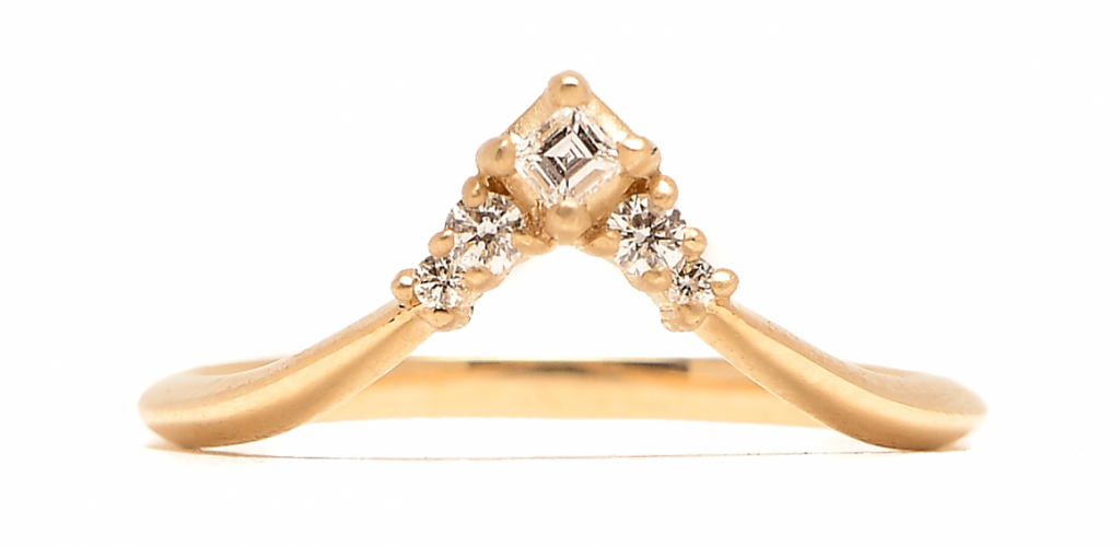 Diamond Arrow Ring by Michelle Fantaci
