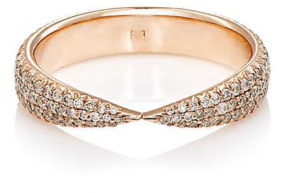 Kissing Claw Ring by Eva Fehren