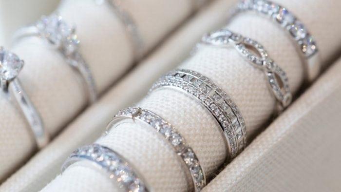 Wedding Ring Display
