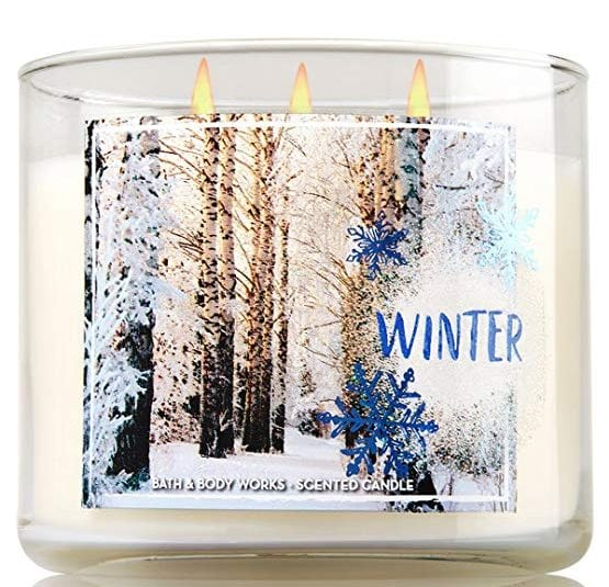 Bath & Body Works Winter 3-Wick Candle