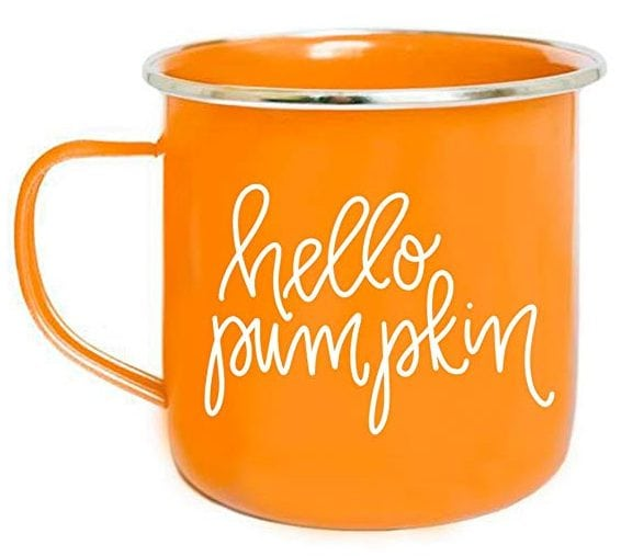 Sweet Water Hello Pumpkin Campfire Mug