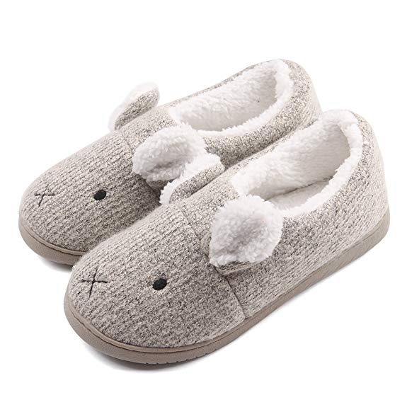 Neeseelily Plush Home Slippers