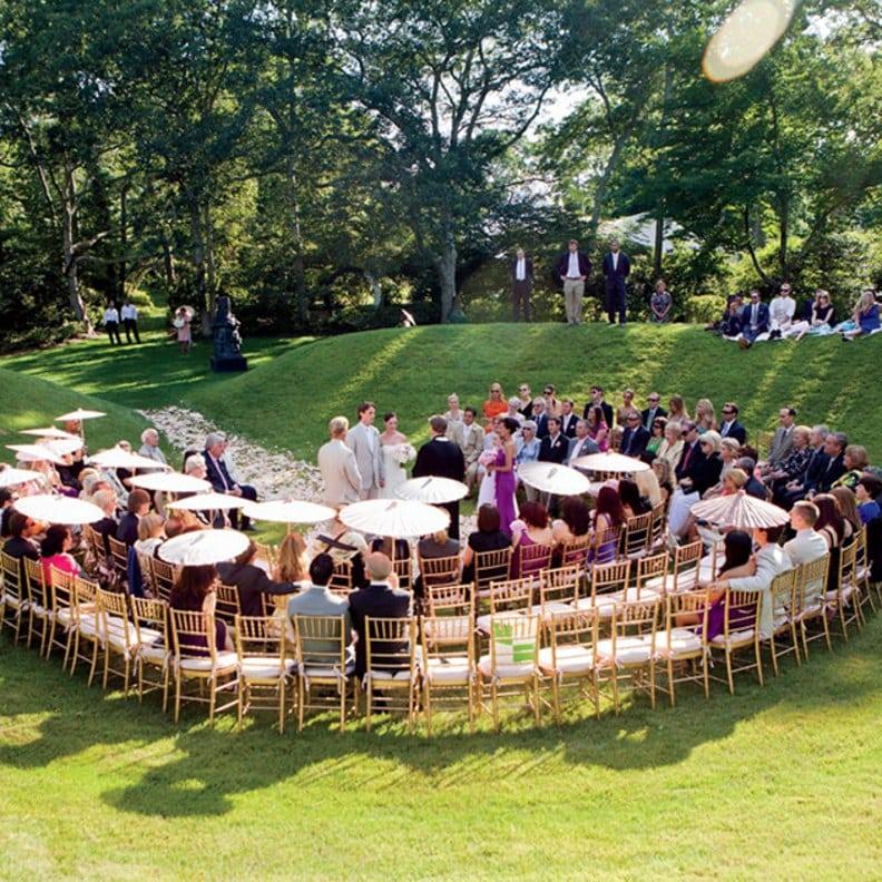 The Horseshoe wedding seating arrangement