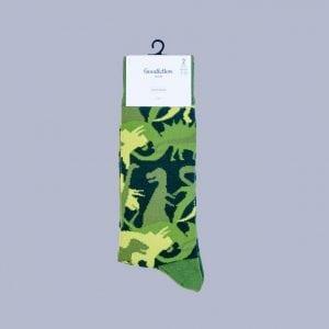 Dino dress socks