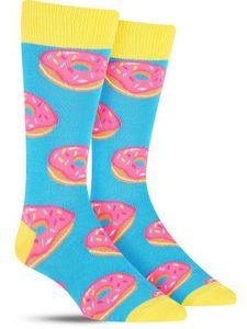donuts dress socks for men