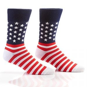 american flag dress socks