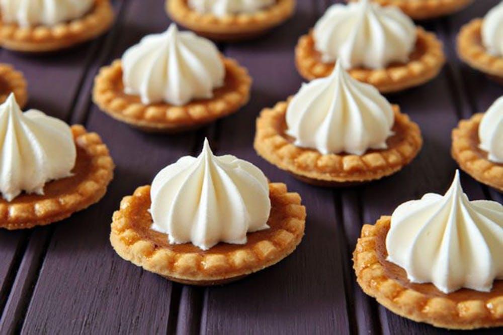mini pumpkin pie recipes