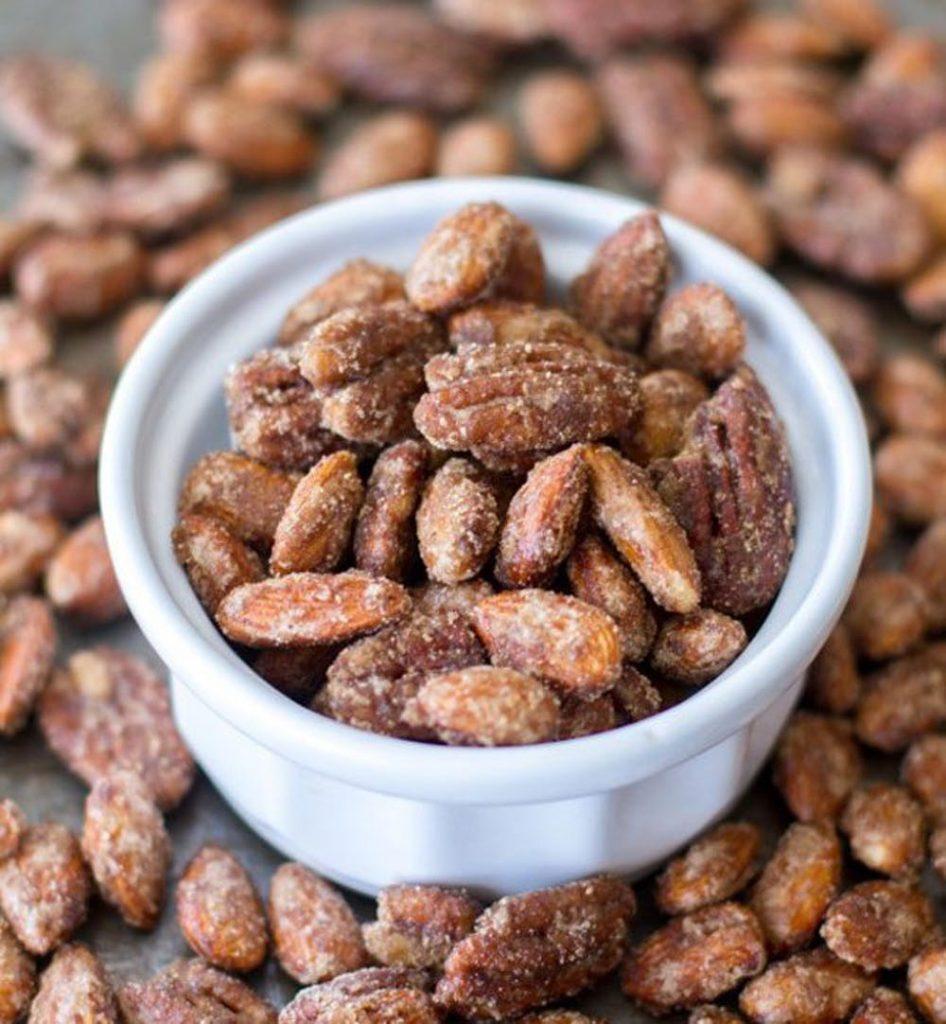pumpkin spice candied nuts recipe