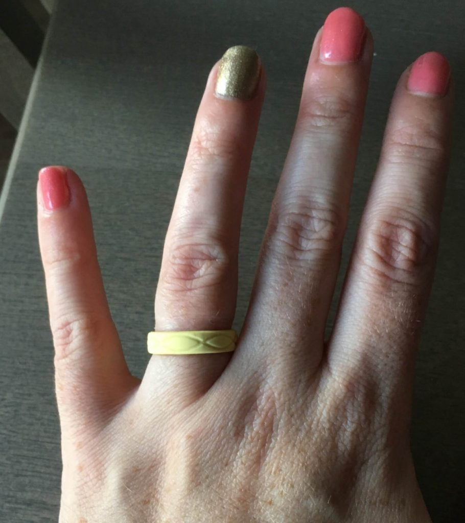 Pollen Enso Infinity Ring