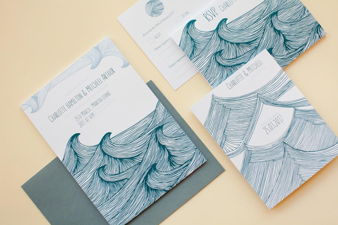 Wedding Invitation Sites Online: Planning Your Summer Beach Wedding Stationery