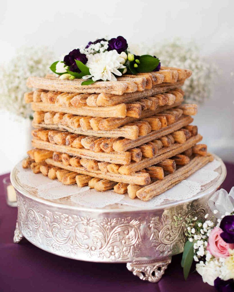 churro wedding cake alternative