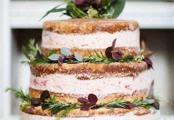 ice cream wedding cake