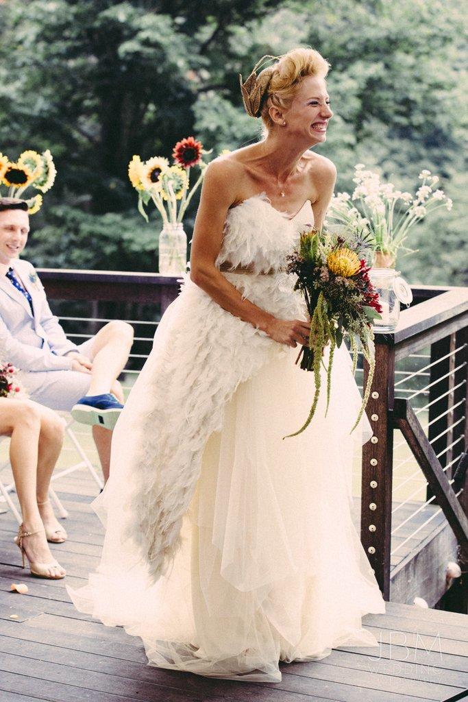 used wedding dress shopping