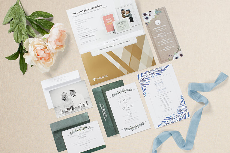 vistaprint wedding invitations handson review