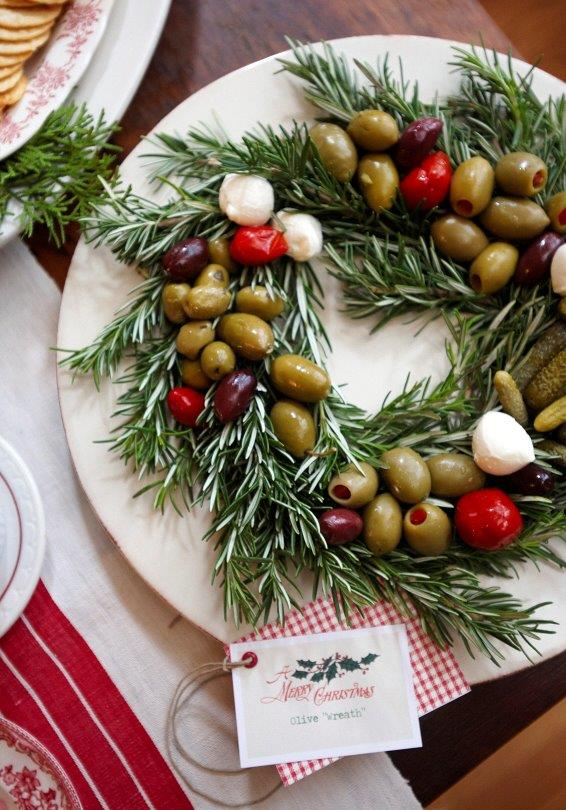Olive Wreath from Julie Usher