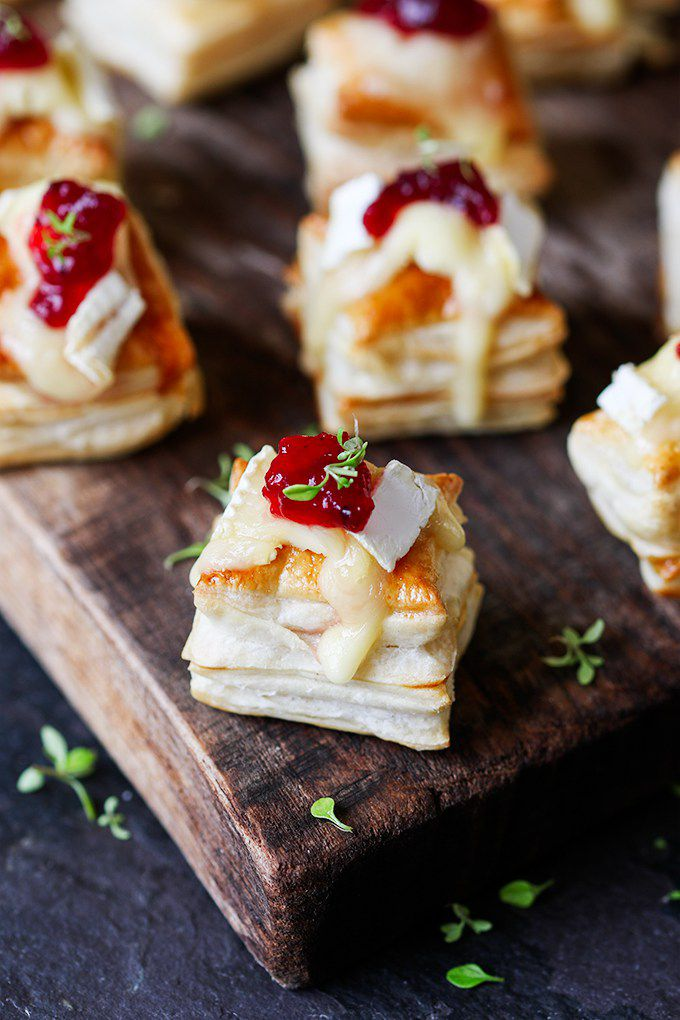 Cranberry and Brie Bites from Kitchen Sanctuary