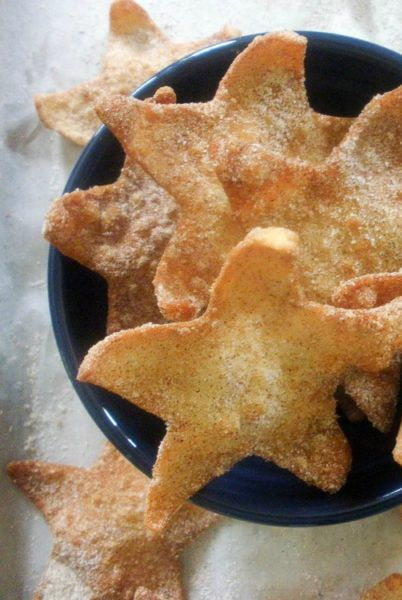 Easy Cinnamon Stars from Take Two Tapas