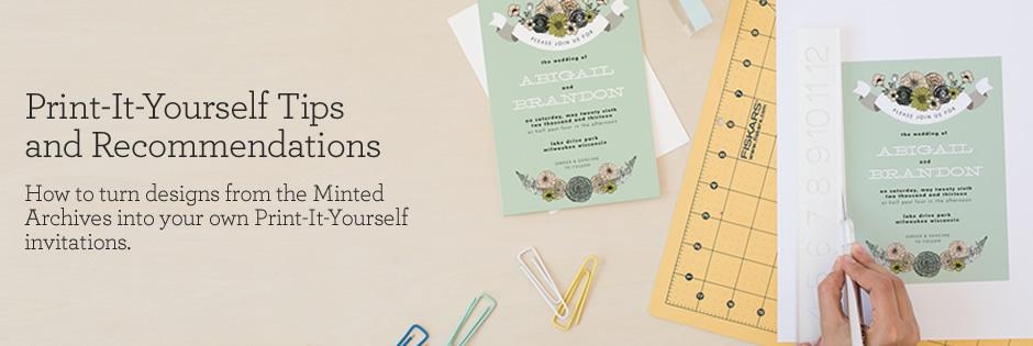 Minted Online Invitations Vendor