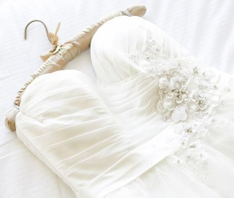 How to Clean Your Own Wedding Dress