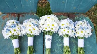 wedding daisy bouquets